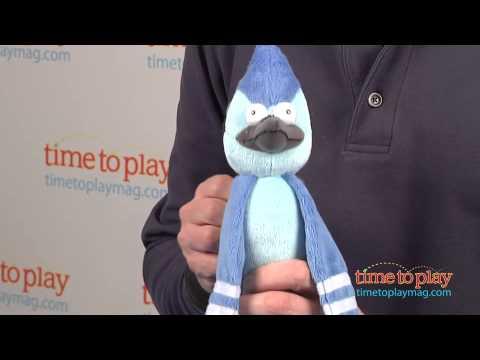 Regular Show Mordecai With Talking Action From Jazwares
