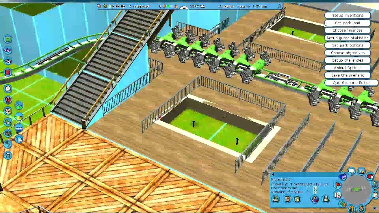Rct3 let 39 s build the ultimate theme park episode 3 for Coaster design ideas