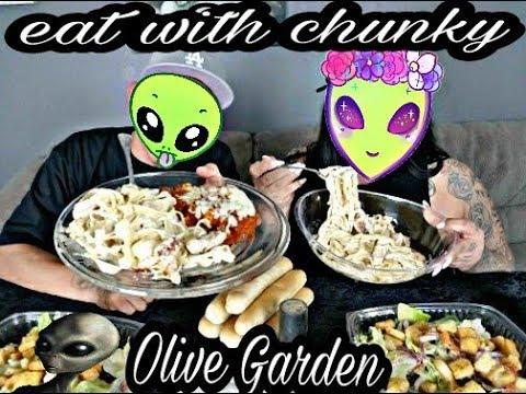 Creamy Chicken Alfredo and Alien  Encounters