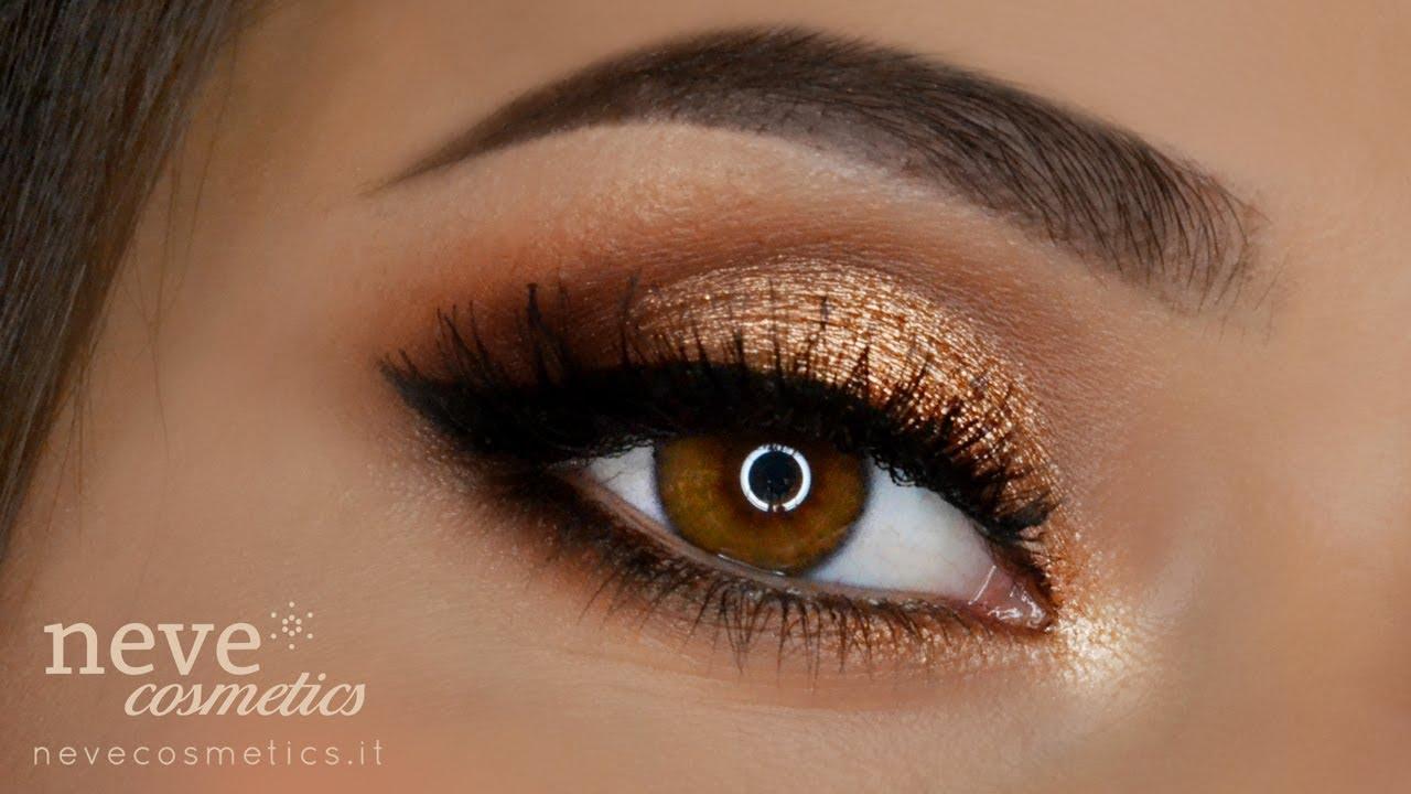 spesso Golden makeup tutorial & Summer vibes - Neve Cosmetics - YouTube ZB62