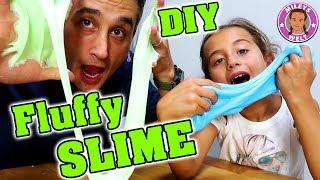 FLUFFY SLIME DIY - Wie mache ich Schleim aus Bastelkleber Mileys Welt
