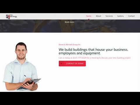 Website Design Seven and Michael Group Toronto