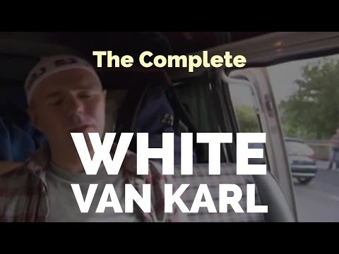 """The Complete """"White Van Karl"""" (A compilation with Karl Pilkington,  Ricky Gervais & Steve Merchant)"""