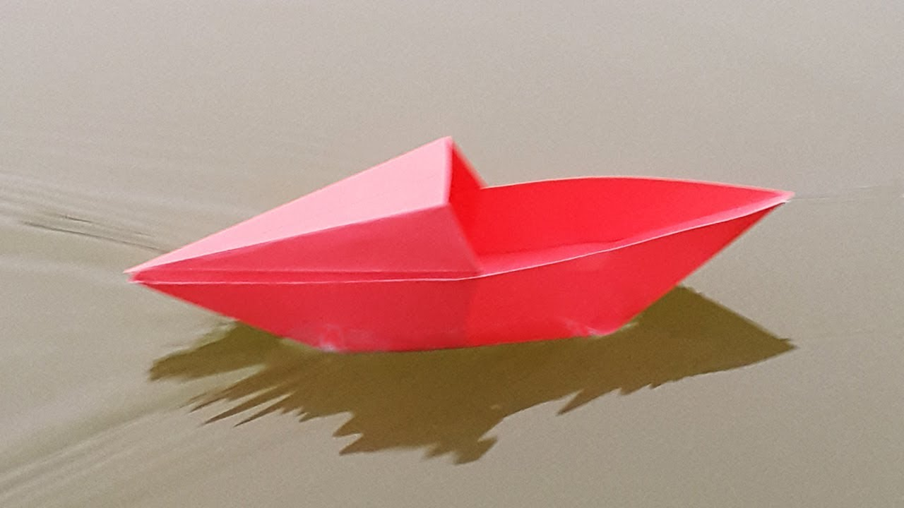 Boat: How To Origami Boat | 720x1280