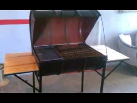 Practico asador hecho en casa youtube - Como hacer un asador ...