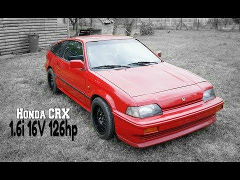 Specijal test: Honda CRX 1.6i 16V 126hp //Ikona 80-ih//
