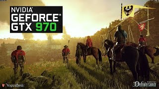 KINGDOM COME: DELIVERENCE | GTX 970 | GAMEPLAY | BENCHMARKING | 900P - 1080P | ULTRA - HIGH |