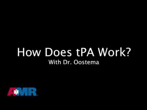 How tPA works