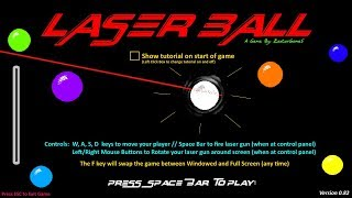 Trying to be the best at my own game, laser ball + more fun!  come say hello!  - livestream!