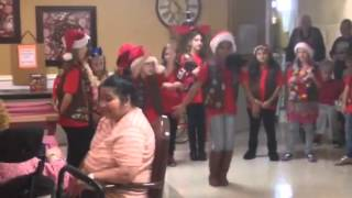 Girl Scout Nursing Home Dance