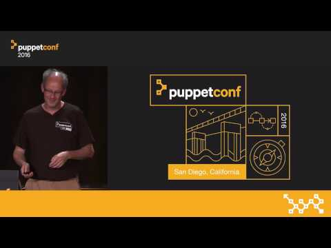 The Challenges with Container Configuration – David Lutterkort at PuppetConf 2016