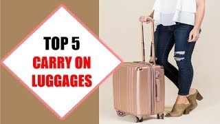 Top 5 Best Carry On Luggages 2018 | Best Carry On Luggage Review By Jumpy Express