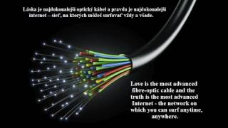 THE MOST ADVANCED FIBRE-OPTIC CABLE - NAJDOKONALEJŠÍ OPTICKÝ KÁBEL (MEDITATIVE MUSIC)