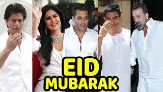 Bollywood STARS Wishes EID MUBARAK 2019 | Salman Khan , Katrina Kaif, Shahrukh Khan, Aamir Khan