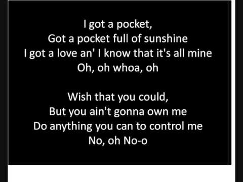 Pocketful of sunshine instrumental with lyrics