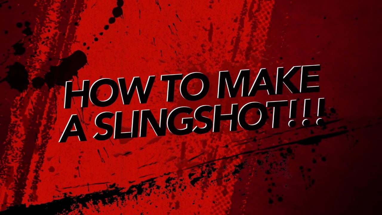 how to make slingshot ark
