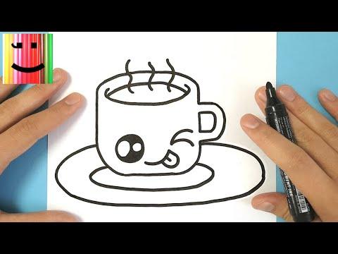 comment dessiner une tasse de chocolat chaud kawaii. Black Bedroom Furniture Sets. Home Design Ideas