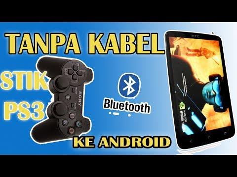 Cara sambung stik PS3 ke android tanpa kabel