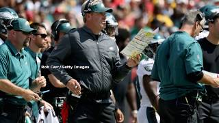 John McMullen answers questions surrounding QB and LG heading into Eagles matchup with Giants thumbnail