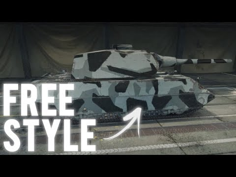WoT - Bonus code for a free camo style