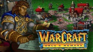 Warcraft 1: Orcs and Humans - Kampania Ludzi / giveaway co 100 sub / like
