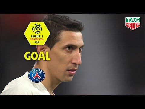 Goal Angel DI MARIA (50') / Dijon FCO - Paris Saint-Germain (0-4) (DFCO-PARIS) / 2018-19
