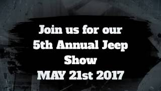 5th Annual Jeep Show