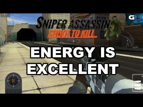 Sniper 3D Assassin - How Energy Units Works