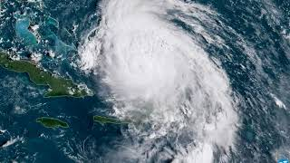 Hurricane Maria Blowing By Turks and Caicos