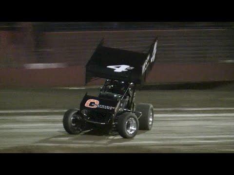 Top Gun Sprint Cars - East Bay Raceway Park 12-5-15
