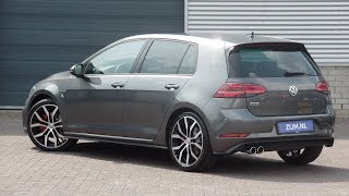 Volkswagen NEW Golf GTD 2018 Indium Grey 19 inch Santiago Walk Around & inside detail
