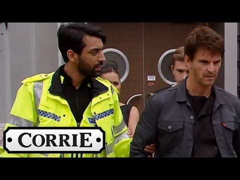 Robert Gets Arrested For Drink Driving - Coronation Street
