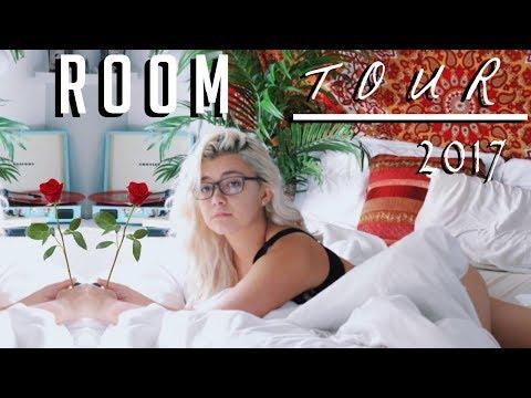 ROOM TOUR 2017 | AESTHETIC, TUMBLR, BOHO