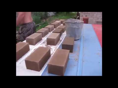 Самодельный станок для производства кирпича