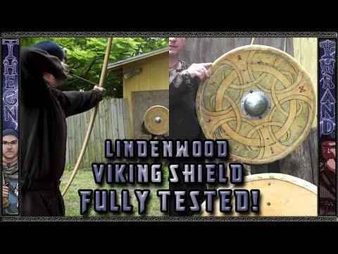 Historical Viking Shield Test is Linden wood the Strongest?