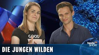 Die ersten Reportagen von Hazel Brugger und Fabian Köster