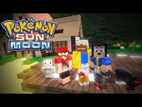 Pokémon Sun And Moon - WELCOME TO ALOLA! Minecraft Roleplay - Ep.1