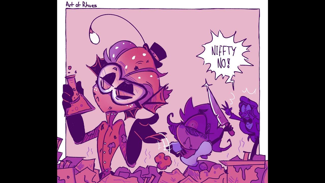 Nifty's Bloodlust [Hazbin Hotel Comic Dub]