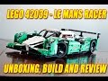 Lego Technic 42039 Le Mans Racer Unboxing Build And Review mp3