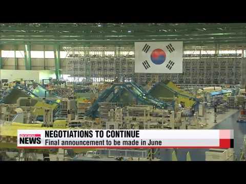 Korea Aerospace Industries wins preliminary bid for KF-X fighter jet project   한