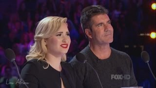 Demi Lovato and Simon Cowell - Funniest moments on The X Factor - Season 3 (4/8) LEGENDADO
