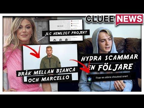 HYDRA SCAMMAR EN FLJARE #Clueenews BIANCA INGROSSO OCH MARCELLO PENA I STORT BRK