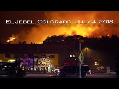 Lake Christine Fire:  El Jebel Blowup
