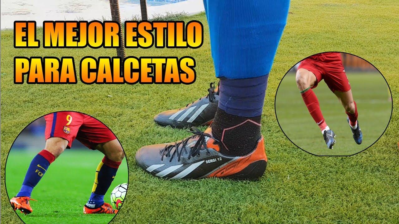 Poner Calcetas Como Profesional Fácil Y Rápido Calcetas Neymar Cristiano Ronaldo Suárez Youtube
