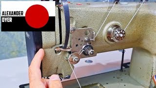 Threading The Pfaff 1245 and Loading a Bobbin