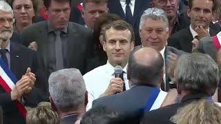 Gelbe Westen: Alle blicken auf Macron