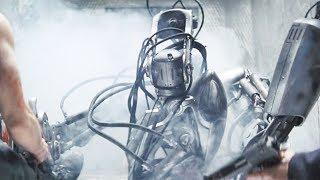 【穷电影】变态科学家将战斗机器人,改装成可怕的毁灭者,最终也害了自己