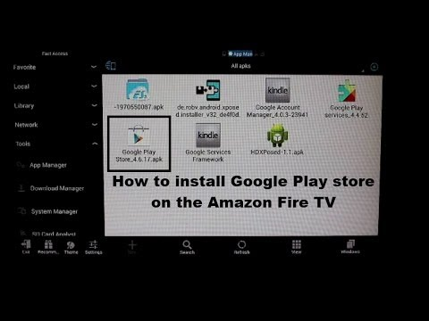 can you install android apps on amazon fire tv