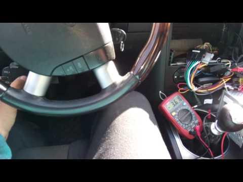 Steering wheel control unit
