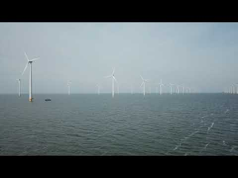 Wireless Monitoring of Offshore Wind Farms